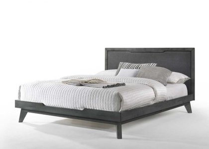 Nova Domus Soria Modern Queen Bed Gray Wash