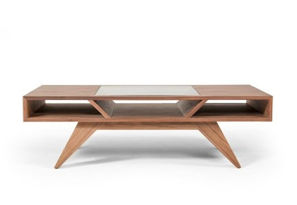 Dublin Modern Coffee Table Walnut