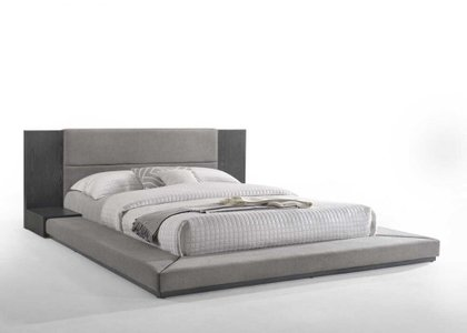 Nova Domus Jagger Queen Bed Gray