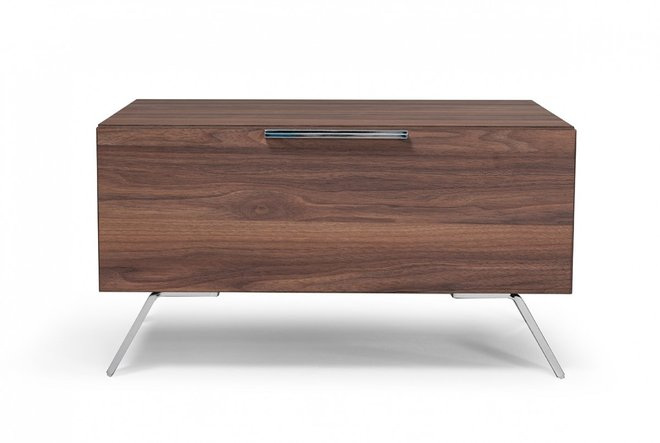 Nova Domus Brooklyn Italian Modern Nightstand Walnut