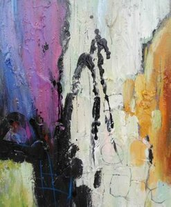 Modrest ADC5137 Abstract Oil Painting Multicolor