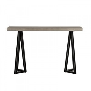 Modrest Richmond Console Table Gray And Black
