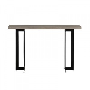 Modrest Sharon Console Table Concrete And Black