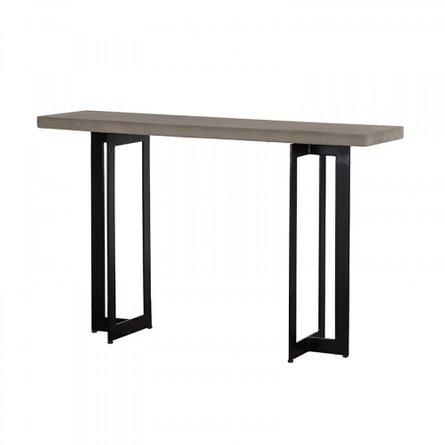 Modrest Sharon Console Table Concrete And Black