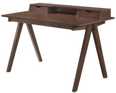 Modrest Boyce Modern Desk Walnut