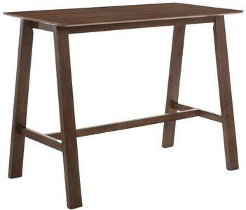 Modrest Lynn Modern Bar Table Walnut