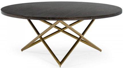 Novia Coffee Table Black & Gold