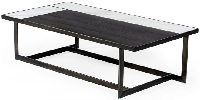 Fargo Coffee Table Gray Walnut