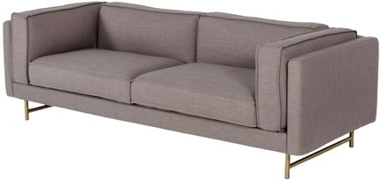 Divani Casa Keswick Sofa Gray