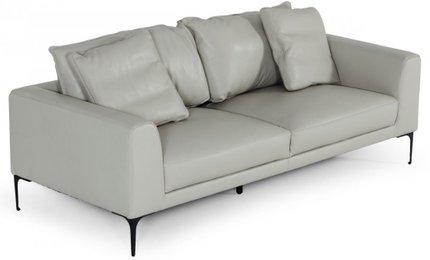 Divani Casa Jacoba Sofa Light Gray