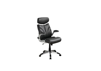 Contemporary Office Chair Gray And Silver