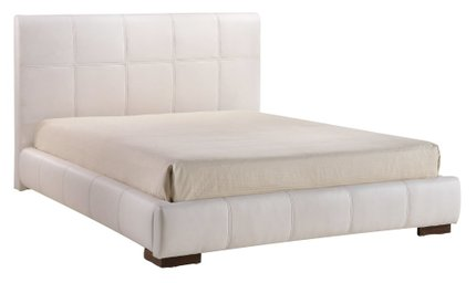 Amelie Queen Bed White