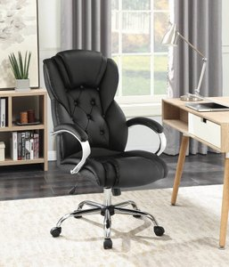 Office Chair Black And Chrome