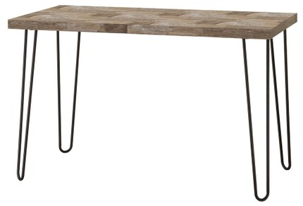 Industrial Salvaged Cabin Writing Desk Brown & Black