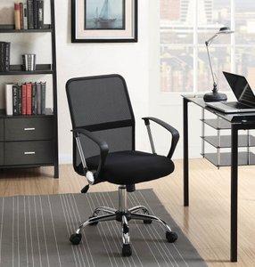 Modern Mesh Back Office Chair Black
