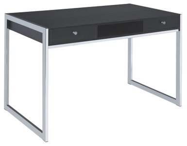 Contemporary Writing Desk Dark Gray