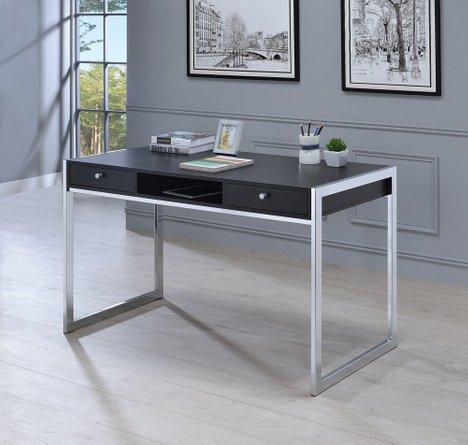 Contemporary Writing Desk Dark Gray