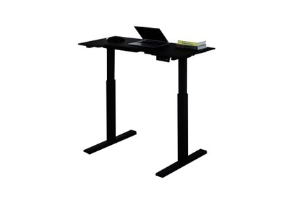Sit-Stand Desk With Memory Settings Black