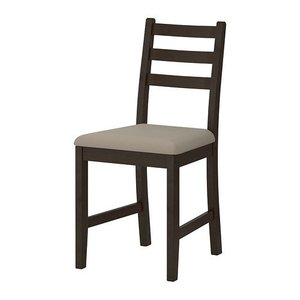 Roth Dining Chair Black & Brown