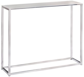 "Montclair 36"" Console Table Silver"