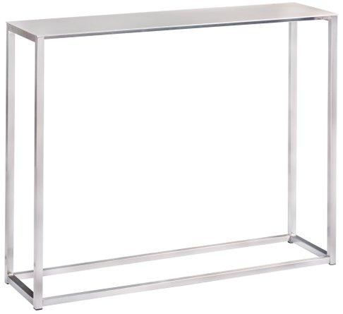 "Montclair 36"" Console Table Silver"