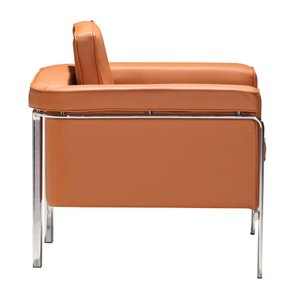 Singular Arm Chair Terracotta