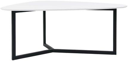 "Morty 72"" Multi-Function Table Matte White & Matte Black"