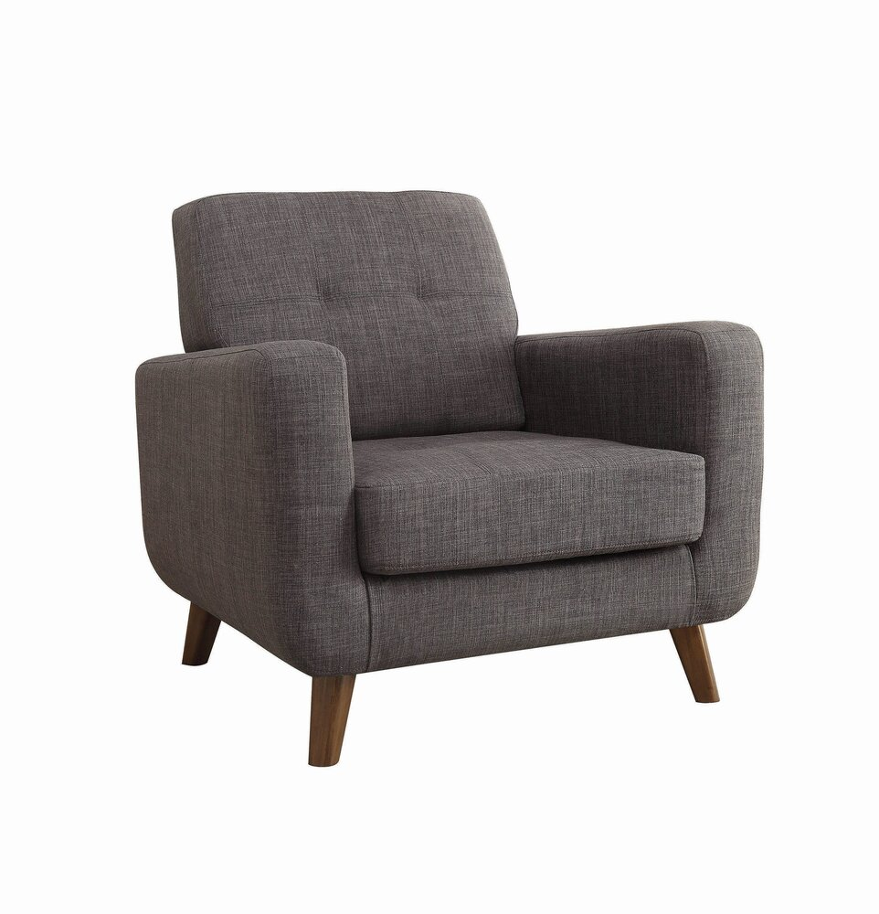 Rent Transitional Accent Chair Gray Chairs New York Casaone