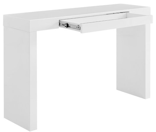 Donald Console Table White