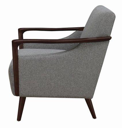 Scott Living Modern Accent Chair Gray