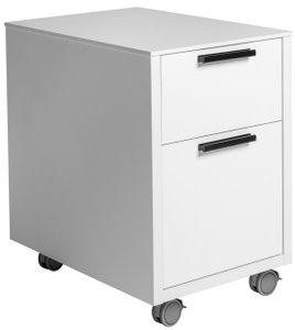 Hugo 2 Drawer File Cabinet White