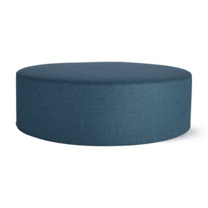 Drum Pouf Teal