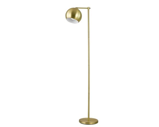 Modern Floor Lamp Brass