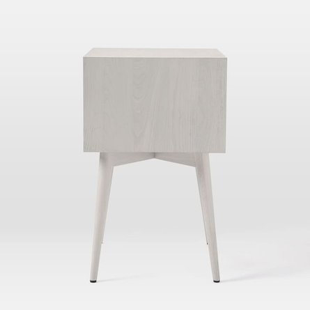 West Elm Mid Century Nightstand Pebble