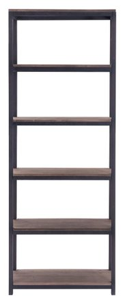 Mission Bay Tall Six Level Shelf Distressed Natural