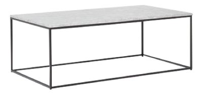 West Elm Streamline Coffee Table Antique Bronze