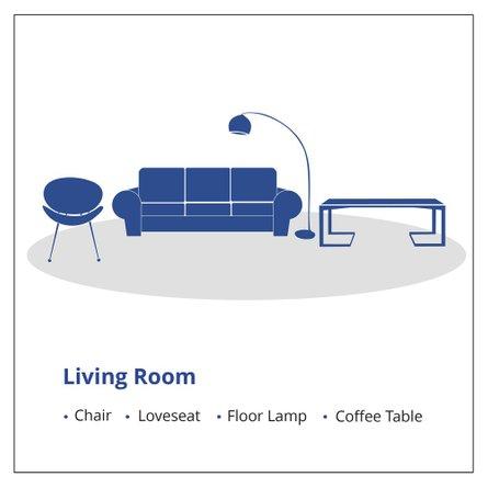 4 Living Room Items