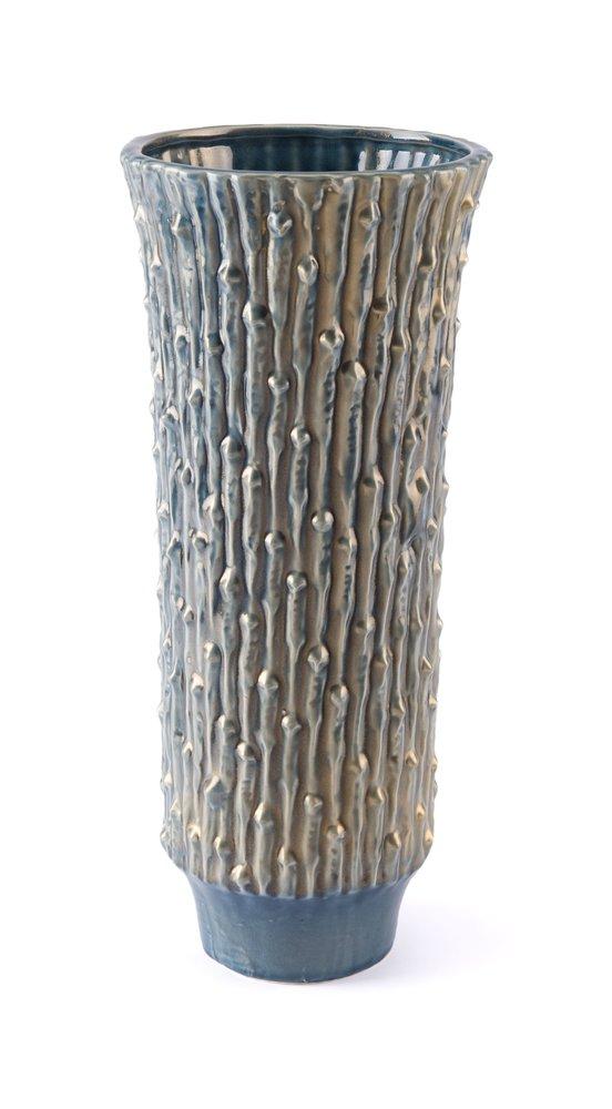 Knot Lg Vase Blue & Gold (Set of 2 Units)