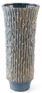 Knot Large Vase Blue & Gold