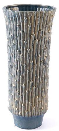 Knot Large Vase Blue & Gold
