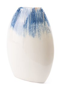 Ombre Round Vase Blue & White (Set of 2 Units)