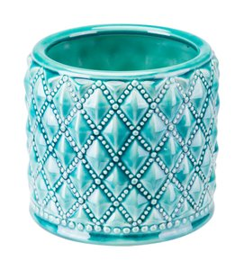 Tufted Planter Teal (Set of 4 Units)