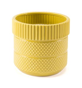 Inca Planter Yellow (Set of 6 Units)