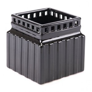Roman Planter Large Black