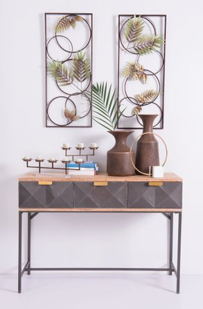 Black Console Table Antique