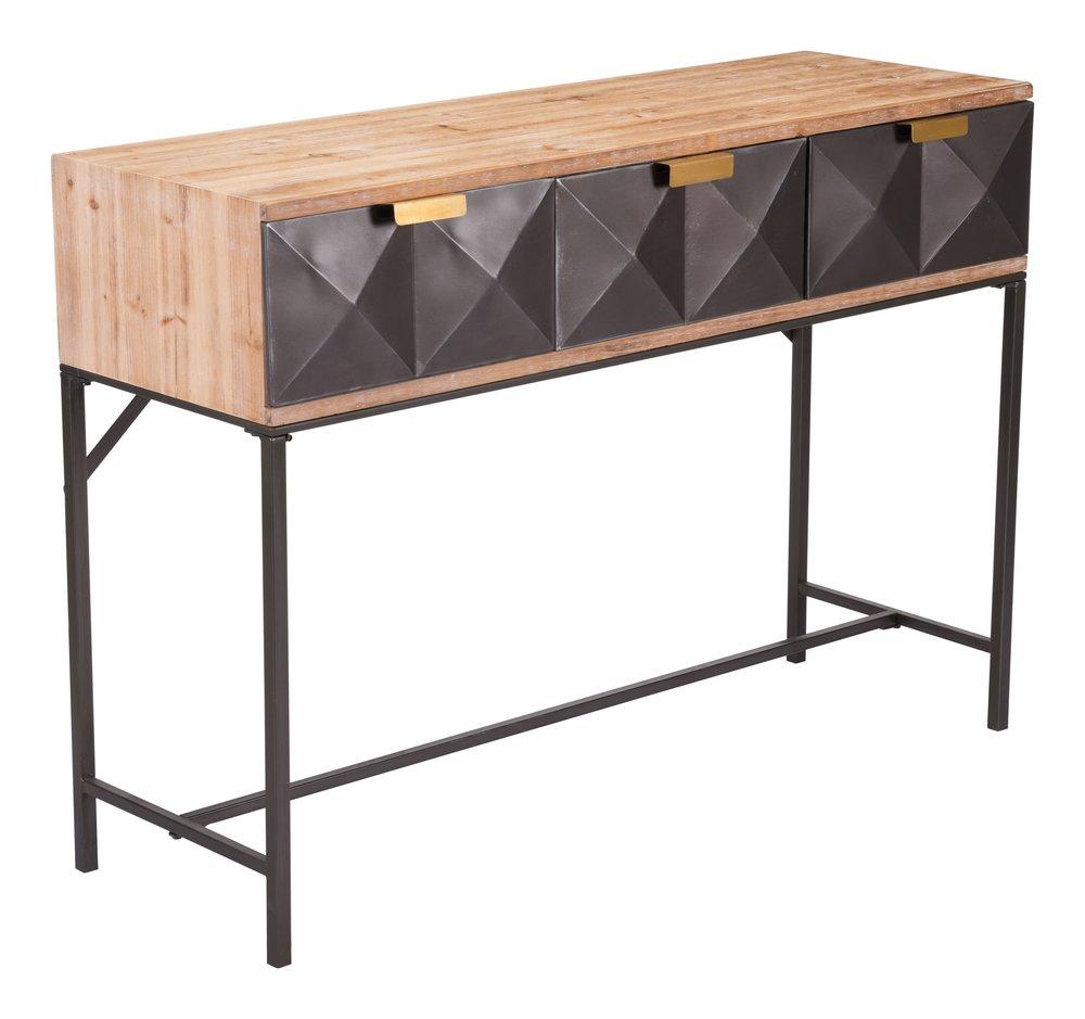 Black Console Table Antique