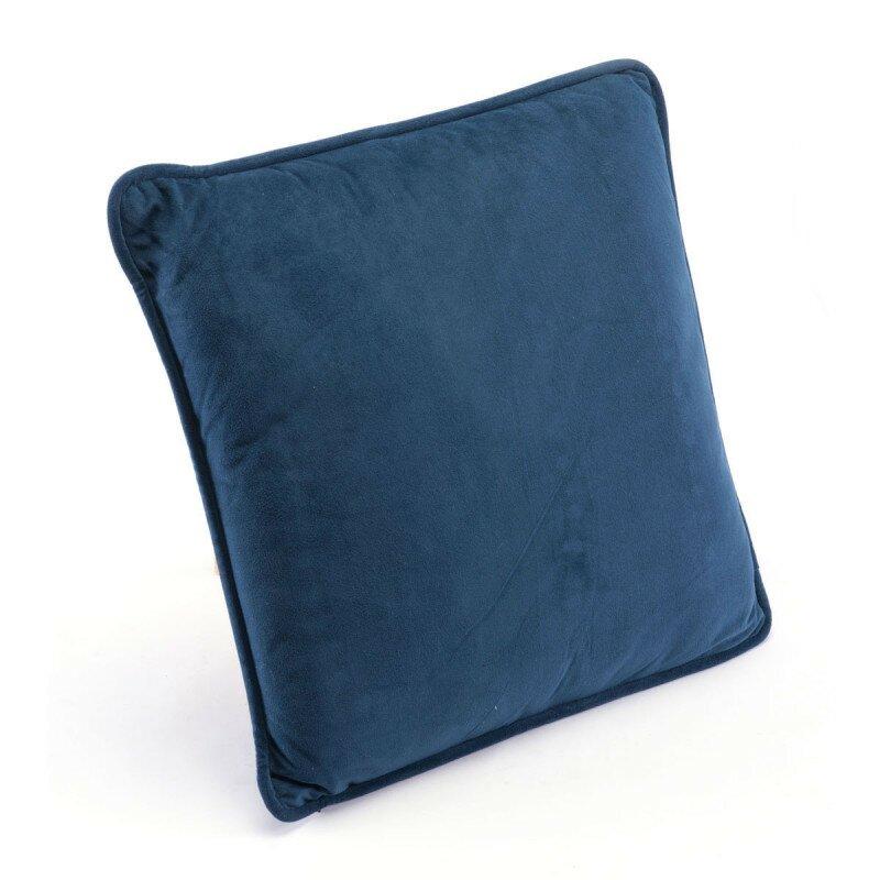 Navy Pillow Navy Velvet (Set of 4 Units)