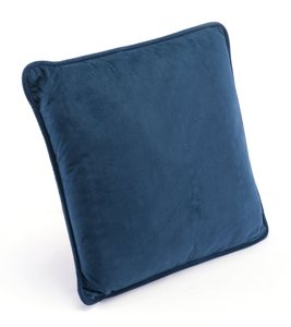 Navy Pillow Navy Velvet (Set of 4 Units)