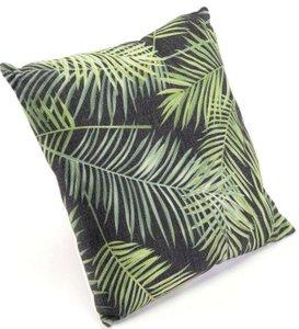 Tropical Pillow Black & Green