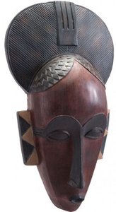 Tribal Mask Multicolor